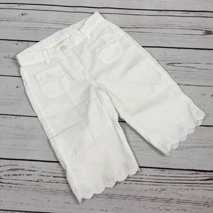 Janie and Jack Girls white pants